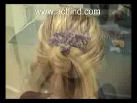 Saç Tokası ile Kısa Sürede Bir Çok Değişik Model