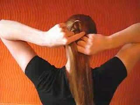 Dörtlü Örgü Modeli (Dörtlü Saç Örgüsü)