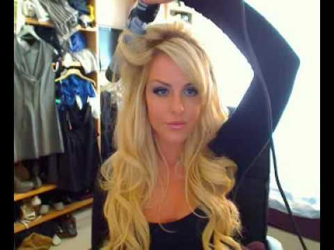 Cheryl Cole Tarzı Hafif Dalgalı Büyük Saçlar