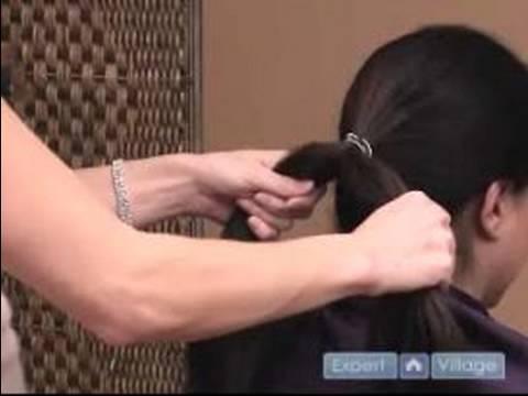 Klasik bir saç örgüsü nasıl uygulanır?