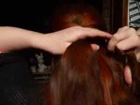 Klasik saç örgüsü tekniği