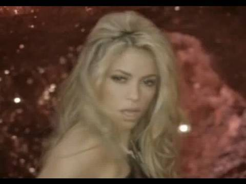 Shakira She Wolf Saç Modeli