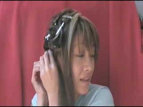 Saç Düzleştiricisiyle Kıvırcık Saçlar