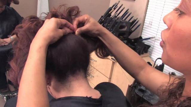Kısa Saçlar İçin Kabarık Saç Modeli