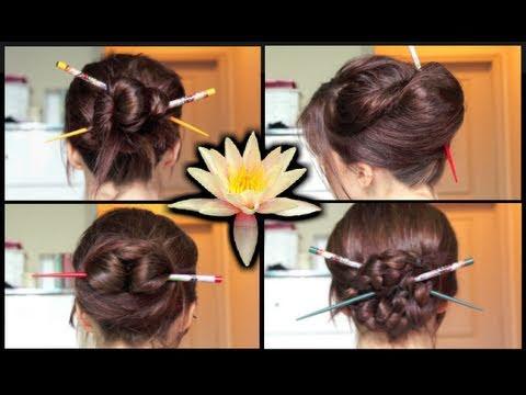 Kore Saç Modeli (Çubuklu-Geleneksel Eski Tarzda)