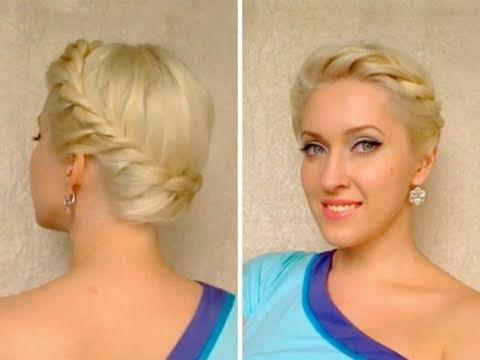 Balo İçin Özel Bir Saç Modeli: Yunan Tanrıçası!