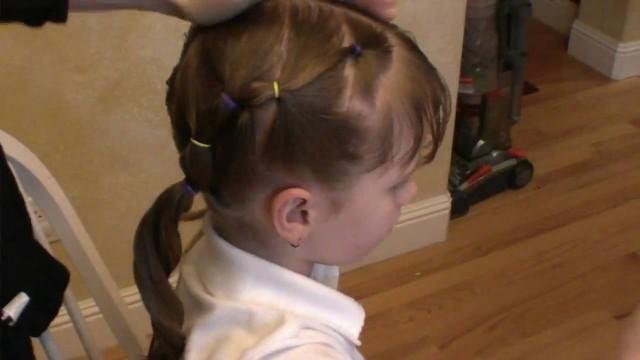 Çocuk Saç Modelleri (Okul İçin)