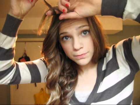 Saçın Önünü Kıvırmak