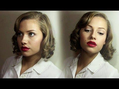 Vintage Saç Modeli