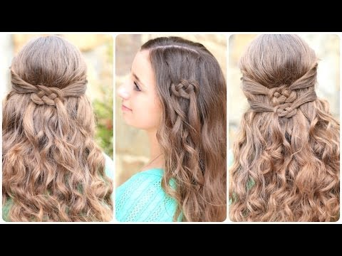 Saçları Düğümleyerek Yapılan 3 Farklı Saç Modeli