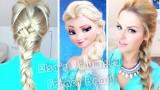"""Balıksırtı Örgü: """"Karlar Ülkesinde"""" Film Karakteri Elsa Modeli"""