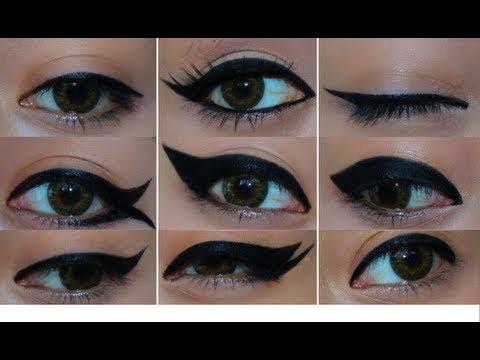 9 Farklı Eyeliner Sürme Tekniği