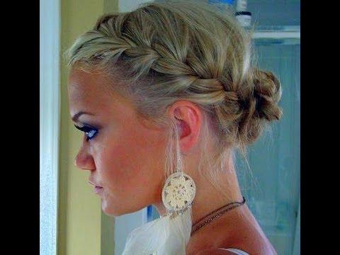 Trend Bir Saç Modeli: Yandan Örgülü Saç