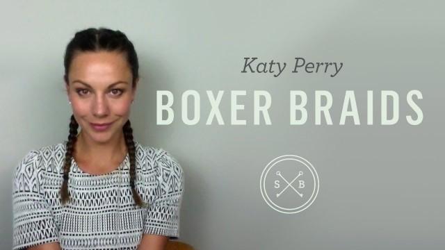Katy Perry  Tarzı İkili Örgü