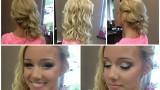 Baloya Hazırlık: Yarı Toplu Dalgalı Saç ve Balo Makyajı
