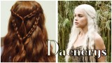 Game of Thrones Daenerys Targaryen Saç Modeli