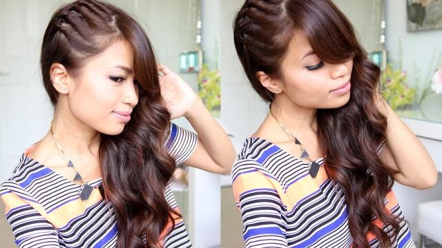 Dalgalı ve Bükümlü Saç Modeli