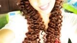 Pipetle Kıvırcık Saç Yapımı