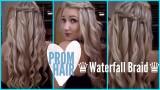 Yıl Sonu Balonuz İçin Şelale Örgü (Waterfall Braid)