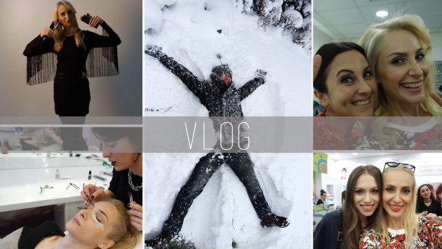 Vlog: Dergi Çekimi, TV Programı, Watsons, Kar Günü, İpek Kirpik   Sebi Bebi