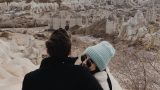 KAPADOKYA'DA YILBAŞI & YERALTI ŞEHRİNDE KAYBOLDUK! | Ceren Ceylan