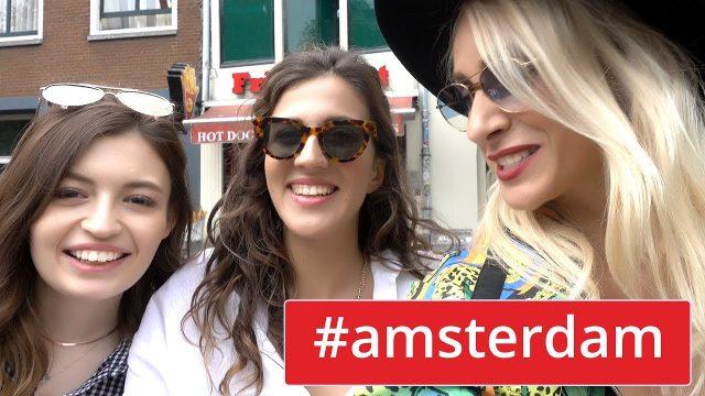 MERYEM CAN ve MELODİ İle Kız Kıza Amsterdam | Sebile Ölmez