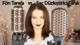 Saç Düzleştirici Tarak vs Fön Tarağı | Karşılaştırma