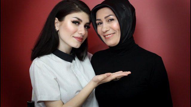 ANNEME MAKYAJ YAPTIM! | ANNELER GÜNÜ