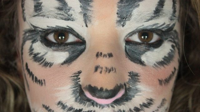 Halloween Tiger Makeup Tutorial | ORTAK VİDEO | Merve SEVİL