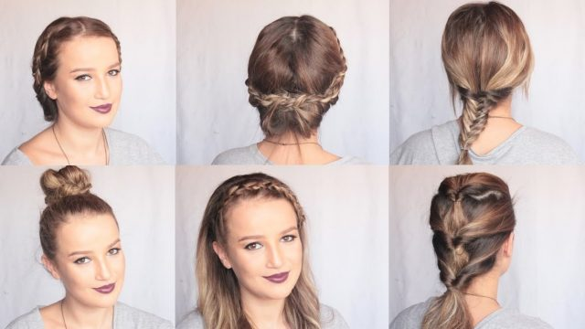 Okul İçin Saç Modelleri 2 | Back to School Hairstyles 2 | Merve SEVİL