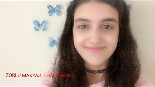 ZORLU MAKYAJ CHALLENGE||6 SANİYEDE PUDRA 10 SANİYEDE RUJ