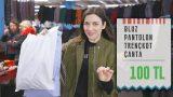 300 TL'ye Pasajdan Kıyafet Alışverişi | 3 Kombin 👗👖