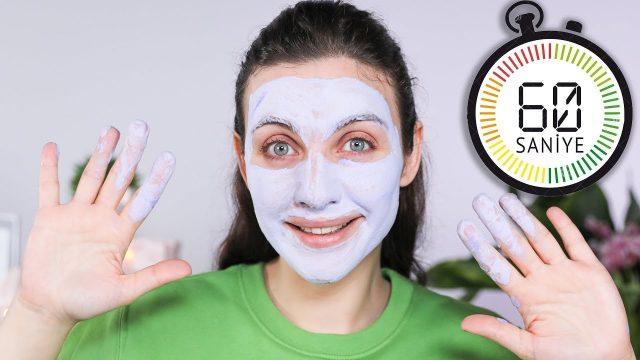 60 Saniyede Gözenek Sıkılaştıran Köpüren Maske Denedim! 🎭 👺