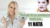 MASKE KULLANIRKEN YAPILAN 11 HATA   Sebile Ölmez